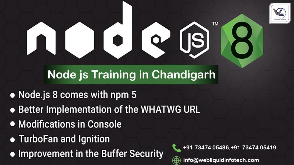 Nodejs Training In Chandigarh Best Nodejs Course Webliquidinfotech
